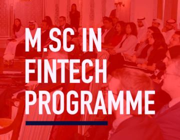 Strathclyde MSc FinTech Banner