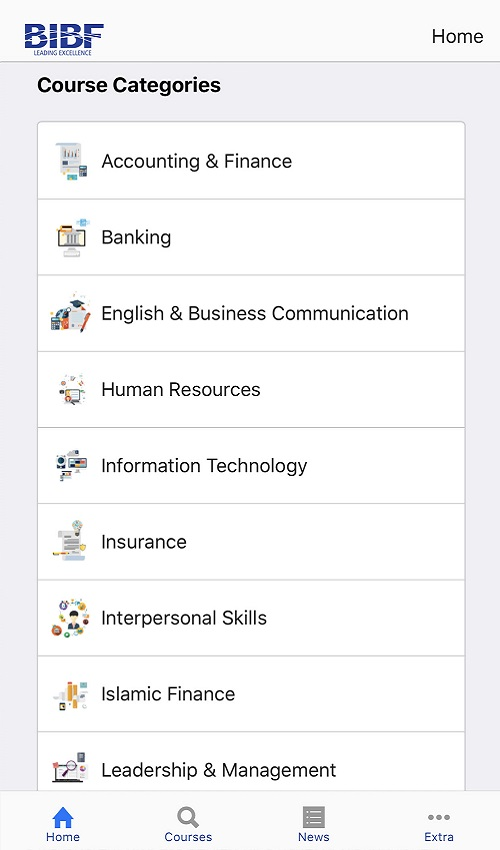 Course Categories
